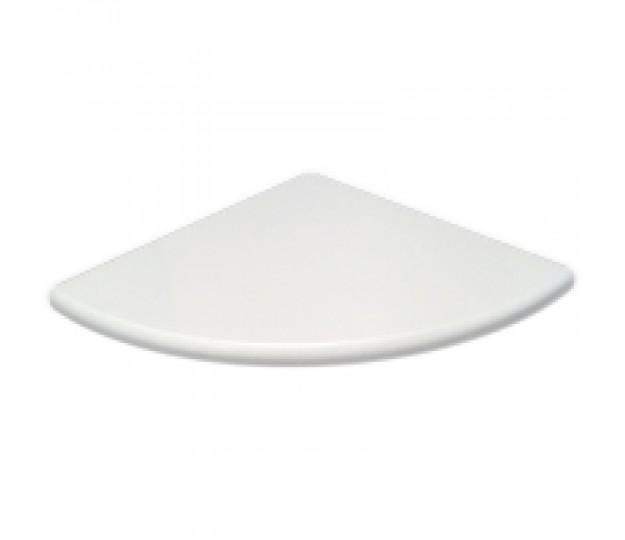 Pure Super White Polished Engineered Stone Corner Shelf. 9\