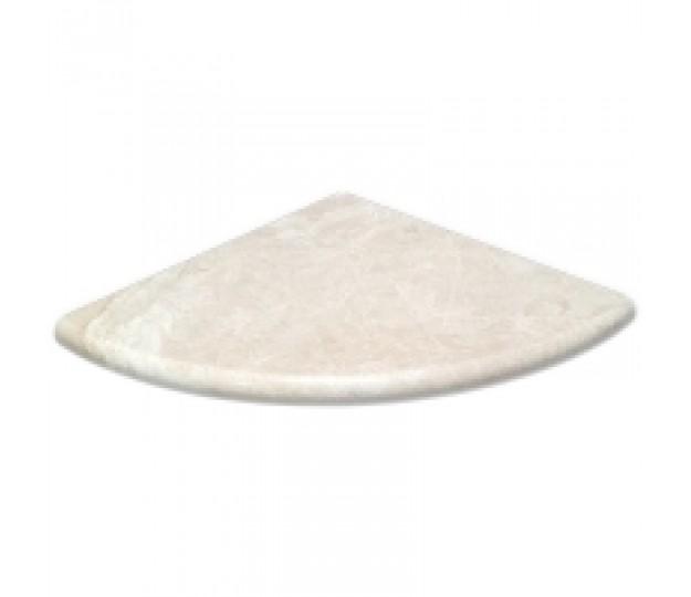 Botticino Marble Polished Corner Shelf (Shower Corner Caddy) 9\